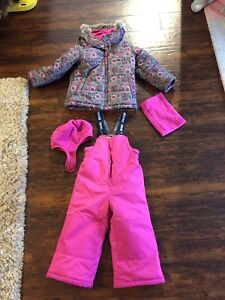 Winter jacket and snow suit (size 3T)