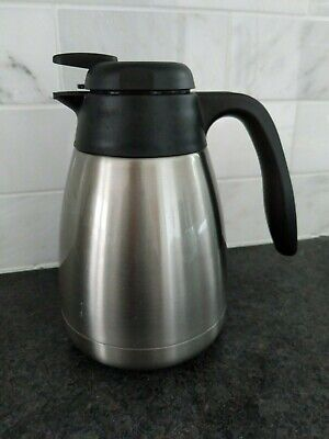 Thermos 34 Ounce Vacuum Insulated Stainless Steel Carafe