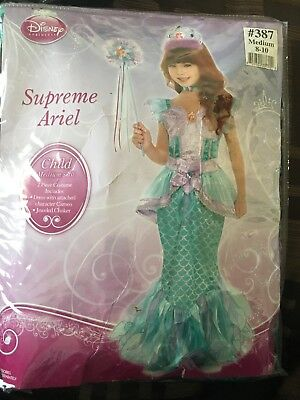 Supreme Ariel Child Costume For Halloween! Size Medium (8-10)](Costumes For Baby For Halloween)
