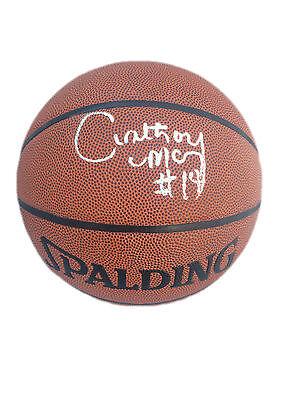 Anthony Mason Signed Spalding Indoor/Outdoor Basketball JSA w423049
