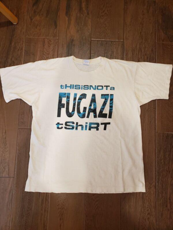 Vintage Fugazi This Is Not A Fugazi T Shirt Minor Threat