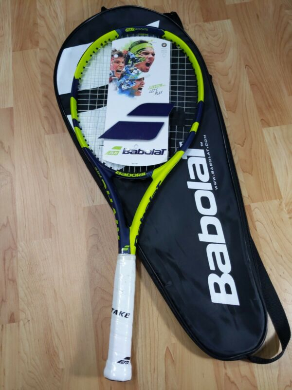 Babolat Rival Pro Tennis Raquet 4 1/2 with carrier bag NEW