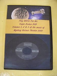 Mst3k play mstie for me triple decker dvd songs of mystery science