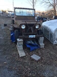 WANT WILLYS JEEP PARTS