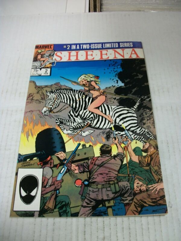 Marvel SHEENA #2 February 1985