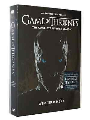 Game of Thrones The Complete Seventh Season 7 DVD Free Shipping Winter Is Here