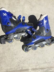 Size 6 rollerblades skates youth adult skating womens girls