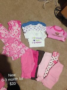 Baby girl clothes - tons!