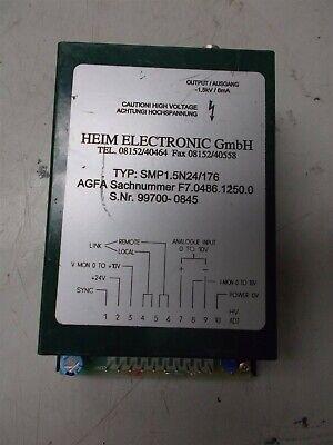 Heim Electronic Gmbh Smp1.5n24176 High Voltage Module