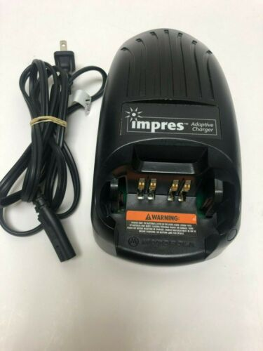 Motorola WPLN4114AR Impres Single Unit Charger XTS2500 XTS5000 Used