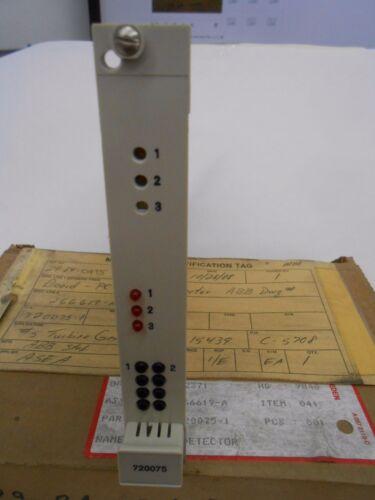 ABB STAL 720075-1 LEVEL DETECTOR PCB CIRCUIT BOARD