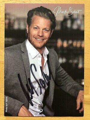 Mark Seibert AK Tanz der Vampire Autogrammkarte Ronacher original signiert 2