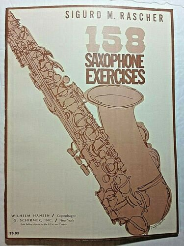 "Sigurd M. Rascher ""158 Saxophone Exercises"""
