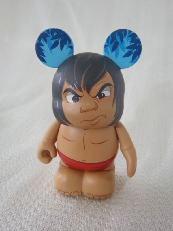 "Disney Vinylmation The Jungle Book Series MOWGLI WITH SCOWL 3"" Mickey Figure"