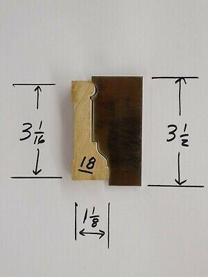 Shaper Moulder Custom Corrugated Back Cb Knives For 3 116 Casing