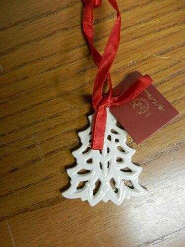 Lenox Pierced Tree Charm Christmas Ornament