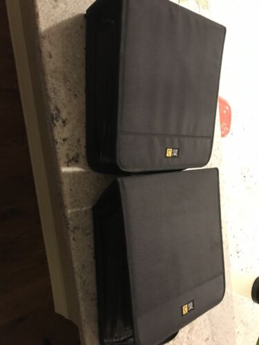 LOT of CDs and 2 Case Logic binders