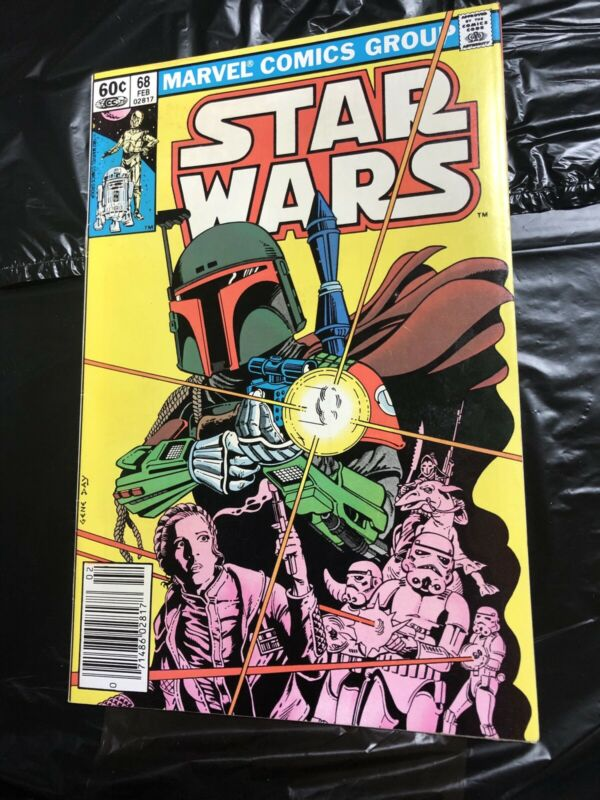 Star Wars 68 Boba Fett Mandalorian Marvel Comics