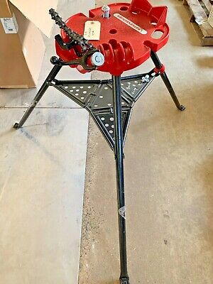 Rothenberger 70752 Tristand Chain Vise Tube And Pipe Bender 18-6 P-9
