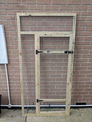 Aviary Panels 6ft x 3ft 19G (Door Panel Only)  for Birds Lovebirds Pigeons