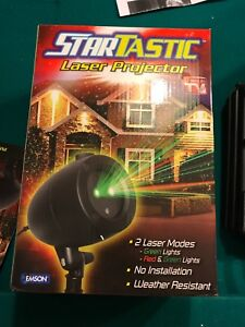 Christmas Startastic outdoor laser projector, Red & green lights