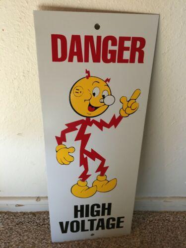 KILO WATT SIGN ---  HIGH VOLTAGE
