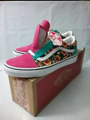 Vans off The Wall Unisex Adult Customs Authentic Aloha Old Skool Shoes M-9 W10.5