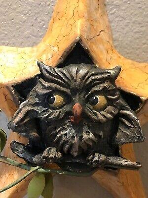 Bethany Lowe Vergie Lightfoot Halloween Owl in Star—Retired