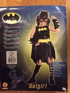 Bat Girl Costume Size 12-14