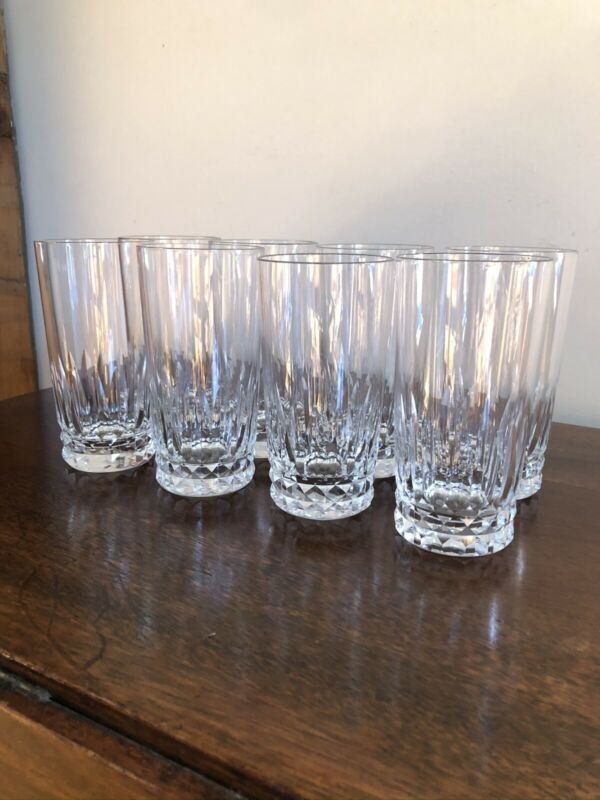 Baccarat Buckingham Crystal Highball Glasses  Set of 8