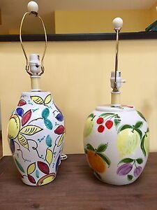 Lampes sur table