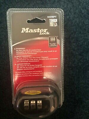 Master Lock 94dspt Combination Lock New