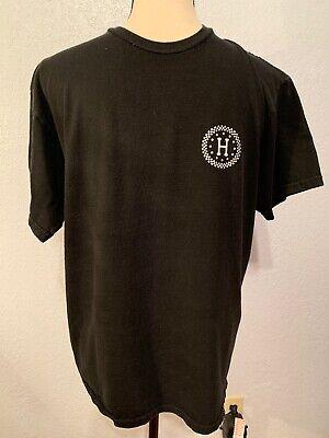 HUF Black T-Shirt Medium  100% Cotton