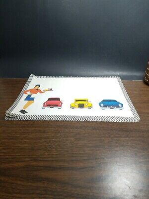 A&W root beer collectibles tray mats never been Used