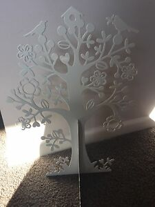 Jewellery holder tree white decorative present stand Clontarf Redcliffe Area Preview