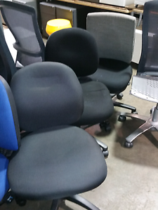 100avbl office chairs $39 each ergonomic office mobile premium Lansvale Liverpool Area Preview