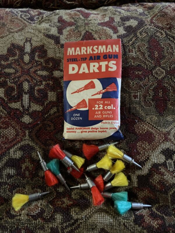 Vintage marksman darts 22 Cal. Very Hard To Find