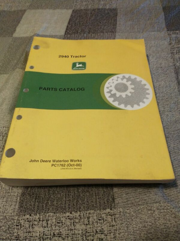 John Deere 2940 Parts Catalog PC1762