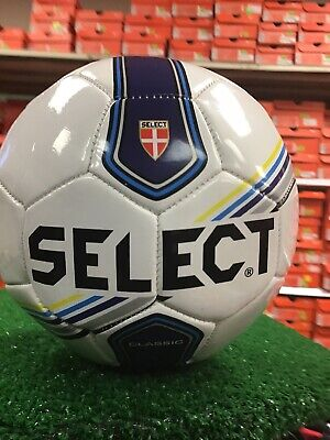 NEW select CLASSIC size 5 soccer Ball white / Blue  Pick your # Select Classic Soccer Balls