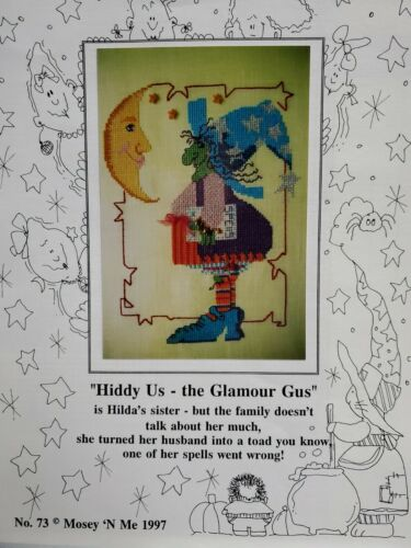 Mosey N Me 1997 - Hiddy Us - The Glamour Gus - $4.00