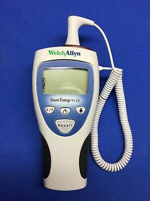 Welch Allyn Suretemp Plus 692 Thermometer W Rectal Probe