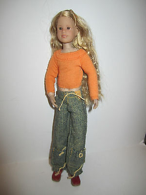 Only Hearts Club Doll Taylor Angelique SWEET! Orange Shirt & Jeans - Near Mint