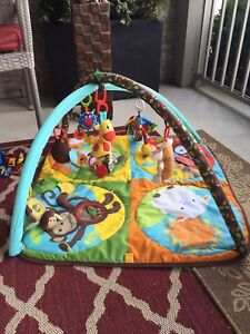 Baby Activity Center with lots of toys