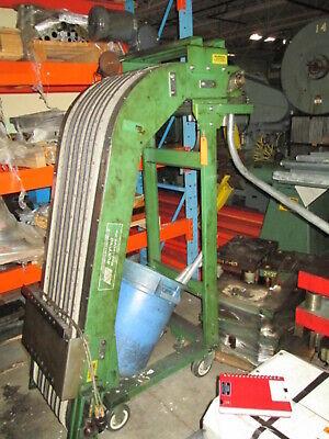 Bunting Magnetics 18w X 64t Magnetic Pvc Belt 230460 3ph Conveyor Belt System