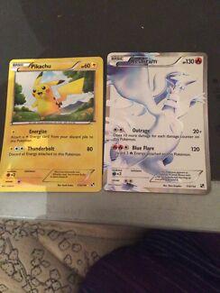Pokémon cards (very rare)