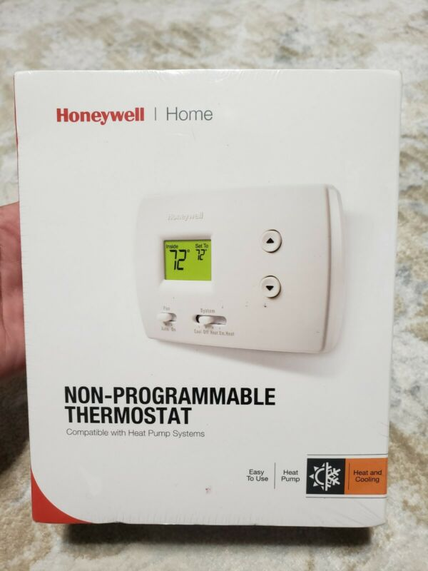 Honeywell RTH3100C1002 Digital Heat/Cool Non Programmable Thermostat NEW