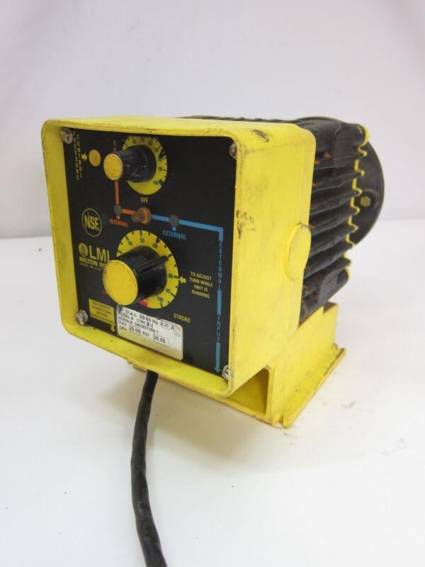 LMI Roy C781-34 Electronically Controlled Metering Pump