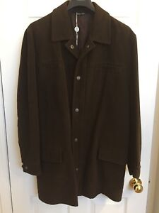Authentic genuine lightly used Versace Jeans Couture spring coat