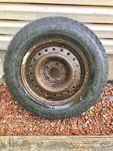 Set of 4 Goodyear Nordic Winter Tires On Rims (205/70R15)