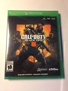 BRAND NEW SEALED BLACK OPS 4 XBOX ONE